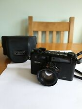 Yashica Electro 35 GT Black 45mm f/1.7 Rangefinder Film Camera (3234)