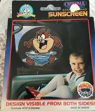 Baby Looney Tunes Taz Static Cling Window Sunscreen