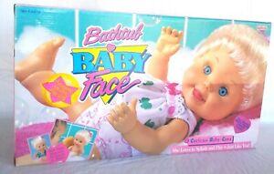 Rare Vintage Galoob Baby Face Bathtub Baby So Curious Cara #21 1991