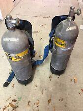 New listing 2 Vintage Healthways Scuba Tank + Backpacks