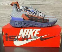 Nike React Running Shoes ISPA Wolf Grey CT2692-001 Mens 4.5 Womens 6 New w/ Box