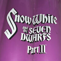 Disney Snow White And The Seven Dwarfs Original Production Cel Title Card Cels 2