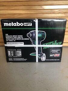 NEW Metabo HPT WH18DBDL2Q4 18V Brushless Triple Hammer Impact Driver Tool Only