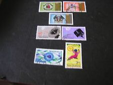 NEW ZEALAND, SCOTT # 473-475(3)+476+477+478/479(2), 1971 VARIOUS ISSUES USED