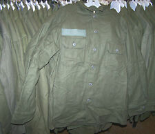 M1951 WOOL SHIRT, OD GREEN, U.S. ISSUE *NICE*