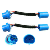 2X 9007/9004/HB5 Wire Harness Extension Cable PVC Socket For Headlight Fog Lamp