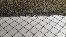Khaki Garden Netting 30x30mm Mesh Anti Bird Pond Plant Net Protection 2.10m Wide