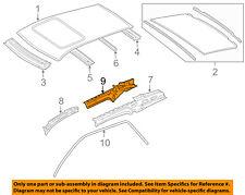 MERCEDES OEM 06-11 ML350-Exterior Roof Side Rail Left 1646301925