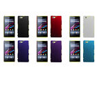 Hard Rubberized Matte Snap-On Slim Cover Case for Sony Xperia Z1 Compact/Z1 Mini