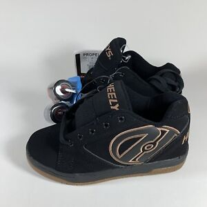 HEELYS Kid's Youth 4 PROPEL 2.0 Skate Shoes (Youth Size 4) Brown/Black