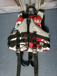 BODY GLOVE Type III PFD Child Life Jacket Vest 30-50 lbs Wake Boarding Ski