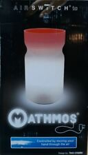 MATHMOS AIR SWITCH SILVER INTERACTIVE MOOD LIGHT MOTION  LAVA GLITTER TABLE LAMP