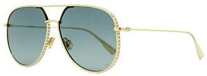 Dior Pilot Sunglasses DiorbyDior 1S J5G1I Gold 60mm