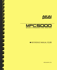 Akai MPC 5000 Music Production Center Version 2.0 OWNER'S REFERENCE MANUAL
