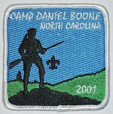 Camp Daniel Boone (NC) 2001 Pocket Patch  BSA
