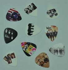 Pack de dix - 10X The Beatles MEDIUM 0.71 mm Guitar Picks Médiators Rock Metal