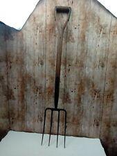 Vintage Garden Digging Fork BRADES Collectable Garden Tools Decorative