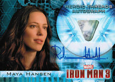 Iron Man 3 Movie Autograph Costume Memorabilia HTA-2 Rebecca Hall as Maya Hansen