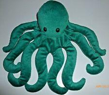 Folkmanis Folktales Octopus Furry Folk Green Animal Hand Puppet Plush Homeschool