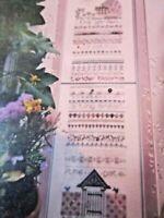 CS277, Shepherd's Bush, cross stitch KIT, OOP, fabric, floss, buttons, beads,