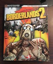 Bradygames Guide Borderlands 2 Xbox 360 Playstation PS3 Gearbox 2k Games 2012