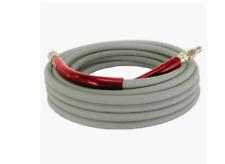 "Gray Non- Marking Pressure Washer Hose 3/8"" x 50' 6000PSI"