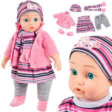 Babypuppe interaktive Spielpuppe Weichkörperpuppe KP4839 NEU  BABY Puppe