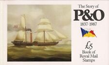 1987 Gb Royal Mail Prestige Stamp Booklet Dx8 The Story Of P&O 1837 1987