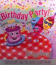 Birthday Party!! Sing a long Songs, New! CD, Childrens sing ,Happy ,Hokey Pokey