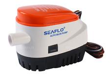 600 GPH Automatic Bilge Pump Marine Boat Built in Float Switch NO Attwood Sahara