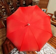 This will bring you joy! Antique 34 Inch Umbrella Parasol - Lovely Bamboo Handle