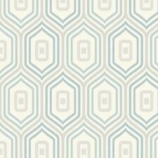 Teal Retro Geometric Funky Wallpaper Glitter Sparkle Textured Entity Grandeco