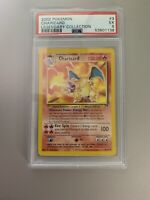 2002 Pokemon Charizard Non Holo 3/110 Legendary Collection PSA 5