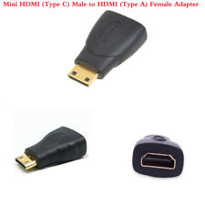 Mini HDMI (Type C) Male to HDMI (Type A) Female Adapter cable Connector for HDTV