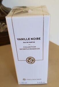 Yves Rocher Vanille Noire Eau De Parfum 50 ml 1.6oz New Sealed