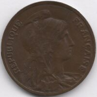 1906 France 10 Centimes | European Coins | Pennies2Pounds