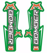 Marzocchi Bomber Fork / Suspension Graphic Decal Kit Sticker Adhesive Set Green