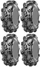 Four 4 CST Sludge Hammer ATV Tires Set 2 Front 30x10-12 & 2 Rear 30x10-12 CU98