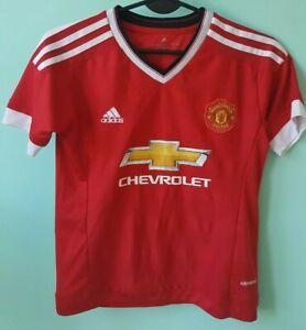 Man Utd 2017-2018 Rooney no 10 Adidas shirt jersey size 24