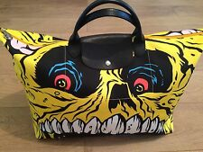 LONGCHAMP x jeremy SCOTT x MADBALLS PLIAGE sac ltd edition 1/1000 hyper rare