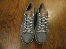 Blackstone Men Premium Leather Pebbled Nordic Blue Casual Comfort Shoes Sneakers
