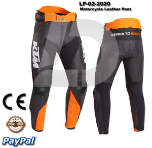 KTM Motorbike Motorcycle Rider Leather Pant LP-02-2019 ( US 38-48 )