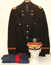 Superbe uniforme grande tenue d'officier d'artillerie US Army colonel daté 1939