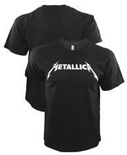 METALLICA Logo T-Shirt Rock N Roll Metal Tee Shirt S-3XL
