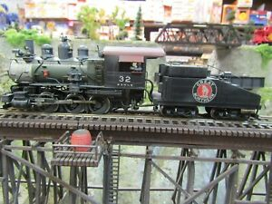 BRASS HO 0-6-0 GREAT NORTHERN  PREOWNED TESTED 1980-90 ERA  PRIMITIVE SOUND