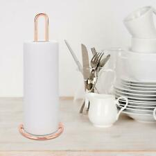 Standing Simply Roll Holder Paper Towel Rack Tissue Holder Rose Gold Home Use