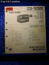 Sony Service Manual CCD TR350E (#3552)
