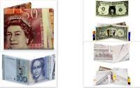 Currency Mighty Wallet Designs Paper Wallets Dinero Half Dollar Deutschmark £50