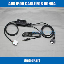 APS AUX INTERFACE for iPOD iPHONE 3G 4 4S NANO TOUCH INPUT for Honda Accord