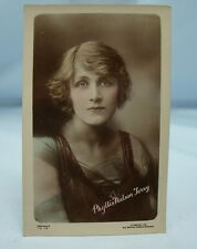 PHYLLIS NEILSON TERRY ANTIQUE THEATRE & FILM ACTRESS REAL PHOTO POSTCARD Pre-WW1